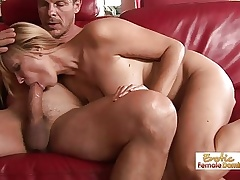 Sexy MILF Has Some Serious Blowjob Abilities