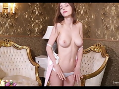 Bosomy Teen Mila Azul Categorization