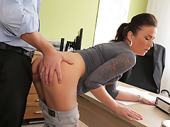 LOAN4K. Fraces likes fresh loan agent so agrees to fuck for...