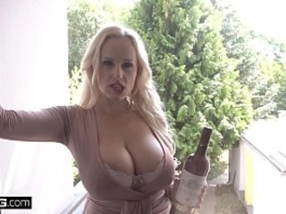 Glamkore - Czech obese boob infant Benefactor Wicky gets anal pang