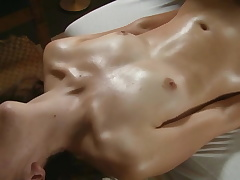 A nice Massage Sesh with real Orgasm