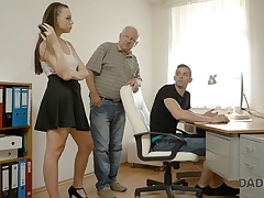 DADDY4K. Bf caught doll having old and youthfull sex with